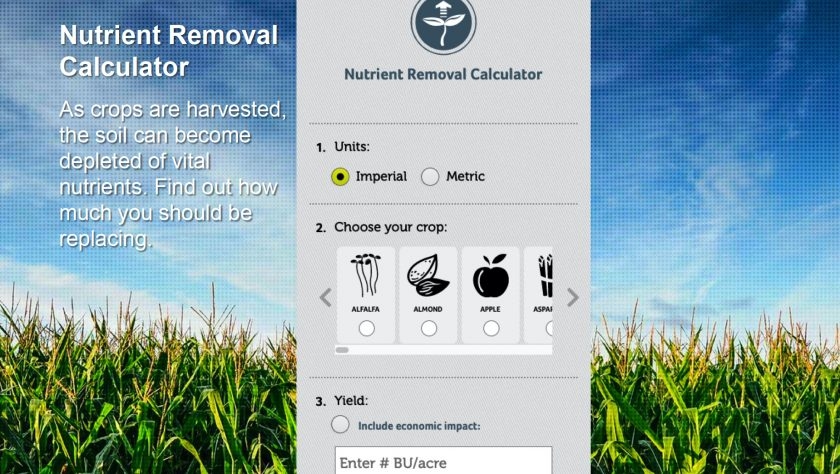 Nutrient removal calc tool hero image